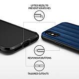Чохол Apple iPhone X, Ringke серія Flex S, колір Deep Blue, фото 3