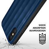 Чохол Apple iPhone X, Ringke серія Flex S, колір Deep Blue, фото 4