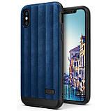 Чохол Apple iPhone X, Ringke серія Flex S, колір Deep Blue, фото 9
