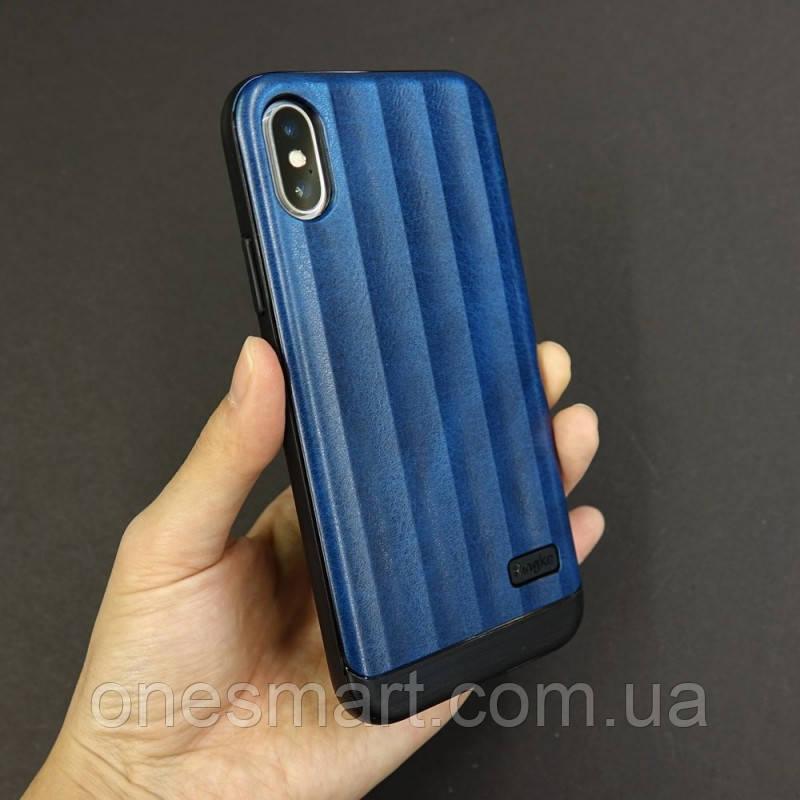 Чохол Apple iPhone X, Ringke серія Flex S, колір Deep Blue