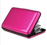 Кошелек-кредитница Aluma Wallet pink