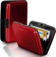 Кошелек-кредитница Aluma Wallet red