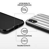 Чохол Apple iPhone X, Ringke серія Flex S Pro, колір Ice Silver, фото 7