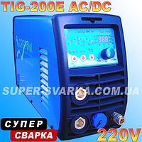 Аргоновая сварка CrepoW TIG-200E AC DC Pulse