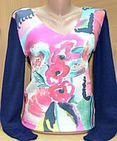Женский свитер мыс