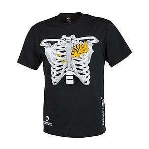 Мужская хлопковая футболка Helikon T-SHIRT (CHAMELEON IN THORAX) Black L (TS-CIT-CO-01), фото 2