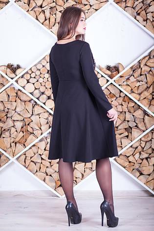Елегантне ошатне плаття великих розмірів, фото 2