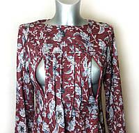 Платье с карманами для беременных и кормящих П57, фото 1