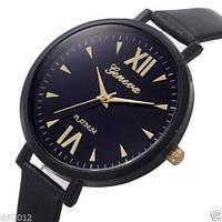 Наручные часы  Geneva черные