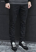 Мужские черные джинсы Staff skinny stretch Black 50296 RD0001