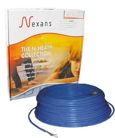 Теплый пол в стяжку под ламинат, кафель 1,8-2,2 м.кв 300 Вт. Двухжильный кабель Nexans. Гарантия 20 лет.