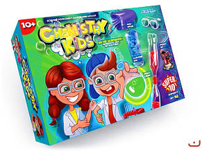 Набор для опытов Chemistry Kids CHK-01 Данко-тойс, фото 2