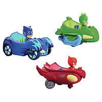 Машинка с героем Герои в масках/ PJ Masks (12 см) 3 вида