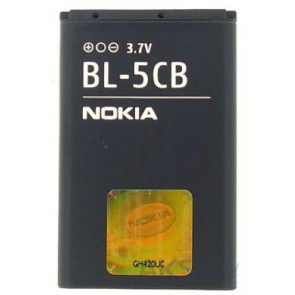 Аккумулятор батарея Nokia BL-5CB 1800/ 113/ 1280/ 1616/ C1-02/ 100/ 101/ 103/ 109/ 1282/ C1-01/ C1-02/ X2-05