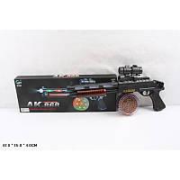 Автомат АК-868 с прицелом, во время стрельбы создает световые красочные эффекты