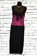 Платье А-силуэт без рукавов