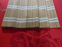 140х160 см. жалюзи бамбук, римские шторы BRM 232