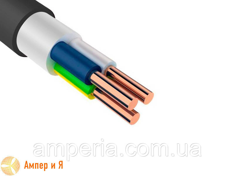 ВВГ-п нг 3х1,5 провод, ГОСТ (ДСТУ)