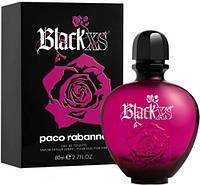 Женская туалетная вода  Paco Rabanne Black XS for Her   80ml ТЕСТЕР  Оригинал