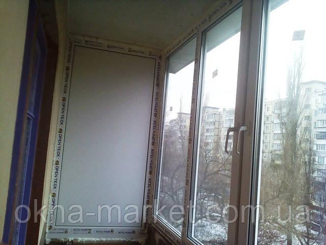 """Купить балкон в рассрочку в фирме """"Окна маркет"""""""