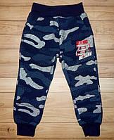 Утепленные спортивные штаны для мальчика Камуфляж 98 р