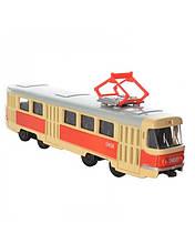 Інерційний трамвай Автопарк Tatra