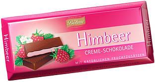 Шоколад Bohme с кремово-малиновой начинкой, 100г