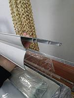 Карниз для штор алюминиевый на 3 дорожки 4 метра