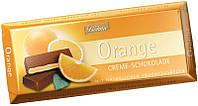 Шоколад Bohme с кремово-апельсинной начинкой, 100г