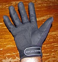 Тактические перчатки Helikon Urban Tactical Line Black - размер XL, XXL (RK-UTL-PU-01), фото 2