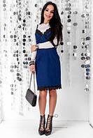 Джинсовое платье-комбинация