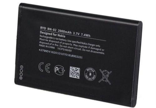 Аккумулятор батарея Nokia BN-02, XL, XL 4G RM-1061, RM-1030, RM-1042, RM-1061
