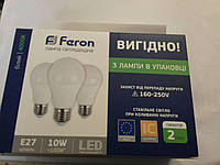 Светодиодная лампа Feron LB710 E27 10W 4000К, фото 1