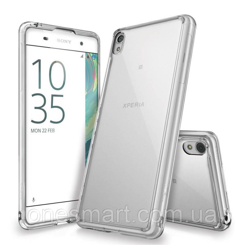 Чохол для Sony Xperia XA Dual (F3112). Ringke серія Fusіon, колір Crystal Clear