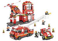 """Конструктор Sluban M38-B0227 """"Пожарные спасатели"""" 727 деталей"""