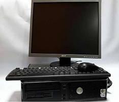 Компьютер в сборе 4х ядерный 4х2,4 / 4 гб ОЗУ / 160 гб hdd