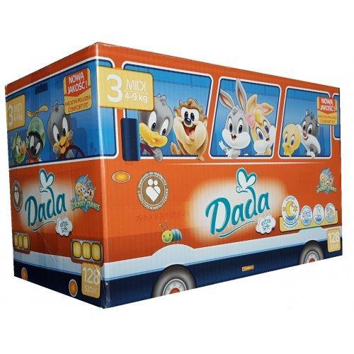 Подгузники детские DADA Extra Soft (3) midi 4-9 кг 128 шт