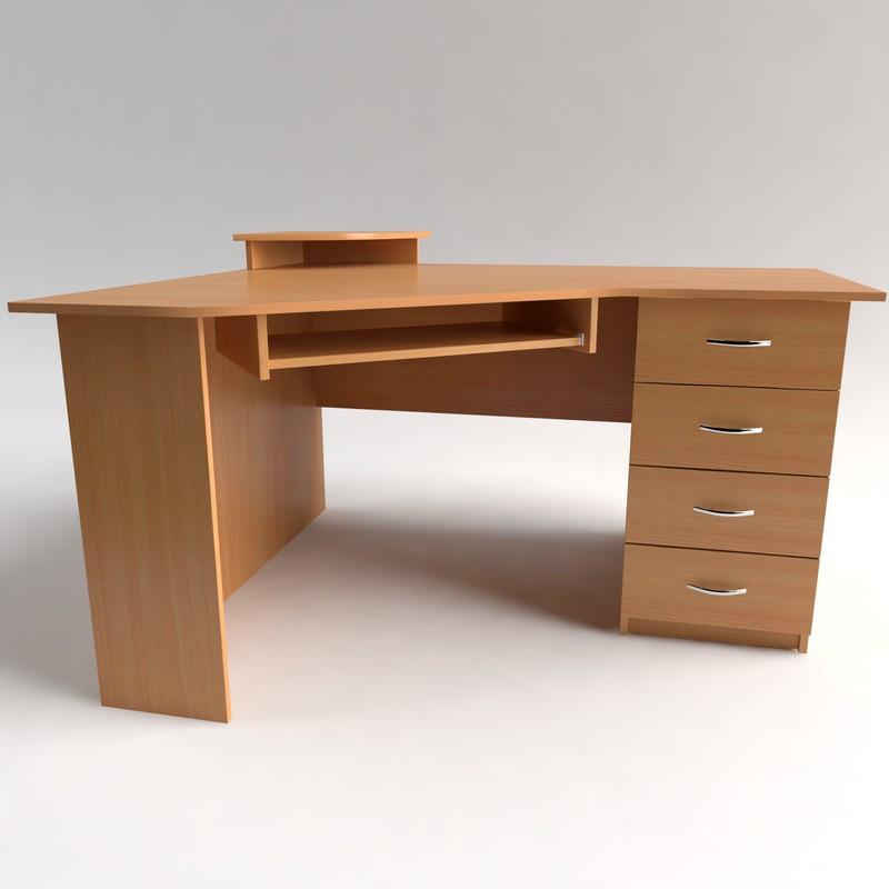 Стол компьютерный угловой с ящиками СУ-1, фото 1