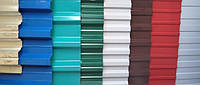 Какие бывают цвета профнастила