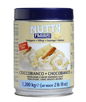 Fabbri Nutty Chocobianco, Nutty Nero, Натті чорний шоколад Fabbri білий шоколад, фото 2