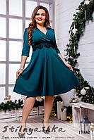 Ретро платье декольте для полных бутылка, фото 1