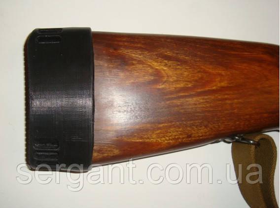 Амортизатор (тыльник, потиличник) для дерев'яного приклада СКС 4,0 см
