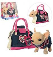 Собачка в сумочке Кикки M 3218 Джинсовый Стиль (аналог Chi Chi Love)