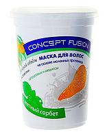 Маска для волос двойной объем «Мятный сорбет» Concept 450 мл.