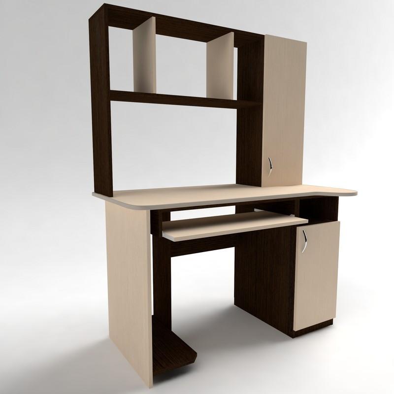 Стол для компьютера с надстройкой СКМ - 3