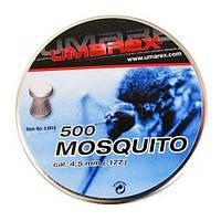 Пульки 4.5 мм Umarex Mosquito 500 шт. , 0.44 гр