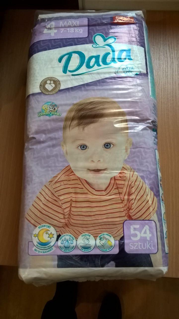 Подгузники Dada Extra Soft №4 ( 7-18 кг ) 54 шт