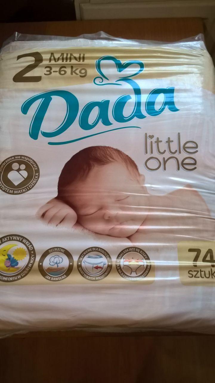 Подгузники Dada Extra Soft с индикатором №2 ( 3-6 кг )