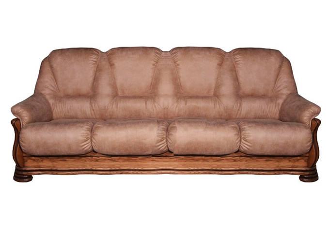 Чотиримісний шкіряний диван Саванна, фото 2