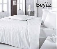 Комплект постельного белья сатин Altinbasak евро размер Beyaz
